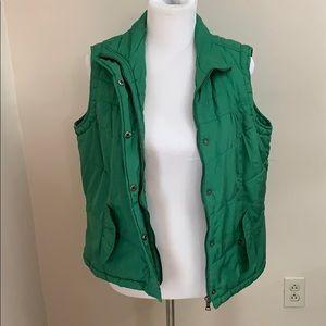 Green Vanity Puff Vest